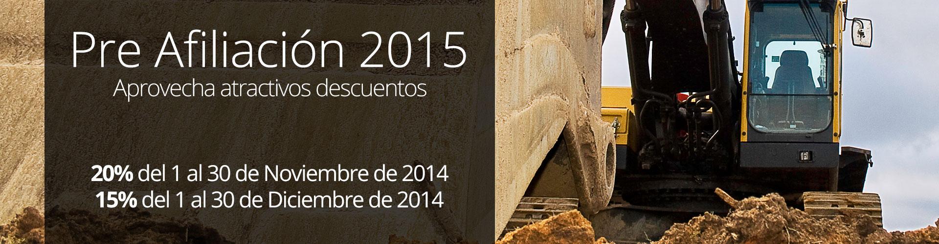 Afiliación 2015